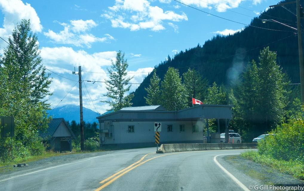 Hyder Alaska Border Crossing