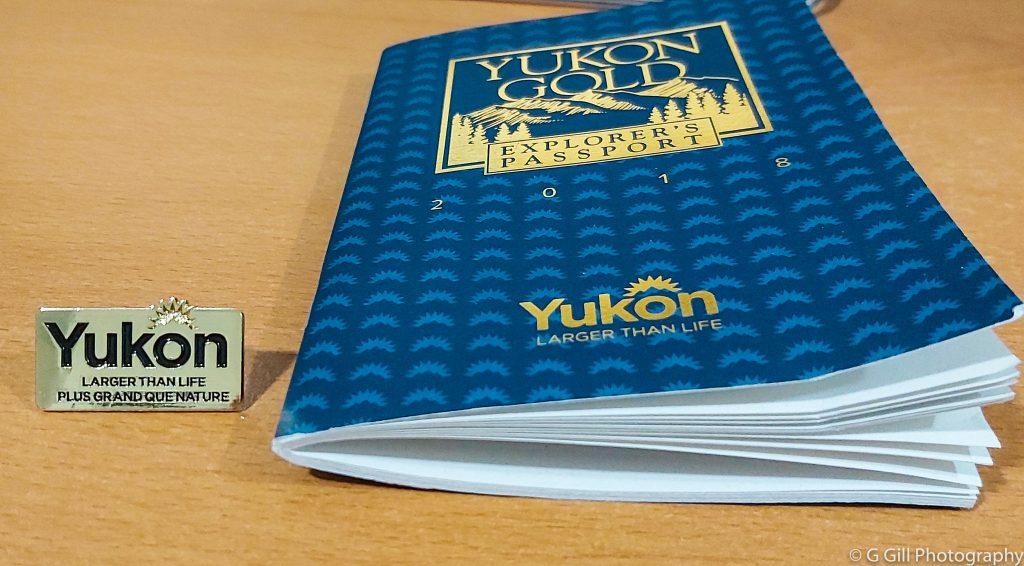 Yukon Gold Explorer's Passport